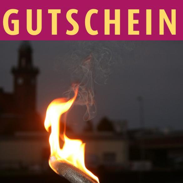 Gutschein: Fackeltour durch den Dortmunder Hafen - Gutscheine zum Anfassen | Flexigutschein -  Sie möchten einem lieben Menschen etwas ganz Besonderes schenken? Wie wäre es mit einem vergnüglichen Fackelgang am Dortmunder Stadthafen?  Der...