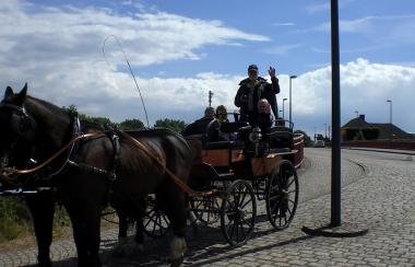 Stadttour mit Pferd & Wagen