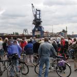 Radtour durch den Dortmunder Hafen